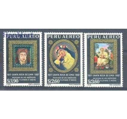 Znaczek Peru 1967 Mi 683-685 Czyste **