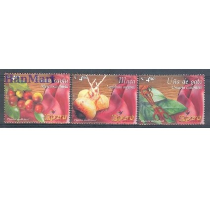 Peru 2004 Mi 1928-1930 Czyste **