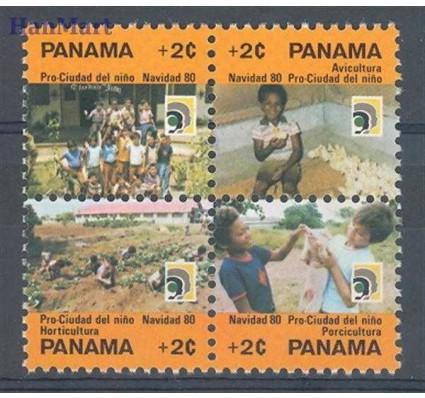 Znaczek Panama 1980 Mi 82-85 Czyste **