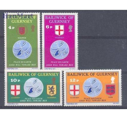 Znaczek Guernsey 1975 Mi 125-128 Czyste **