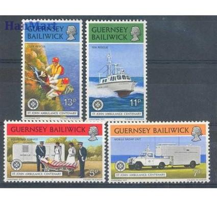 Guernsey 1977 Mi 153-156 Czyste **