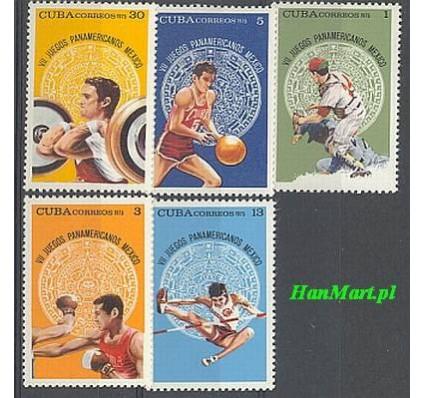 Znaczek Kuba 1975 Mi 2072-2076 Czyste **