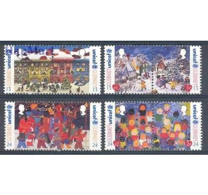 Znaczek Guernsey 1995 Mi 682-689 Czyste **