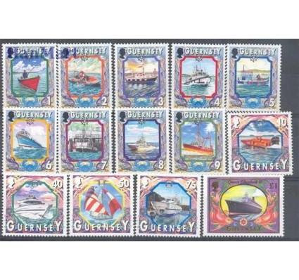 Znaczek Guernsey 1999 Mi 819-832 Czyste **