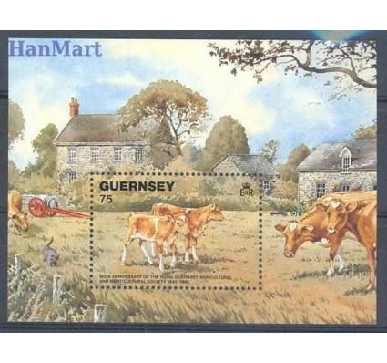 Znaczek Guernsey 1992 Mi bl 9 Czyste **