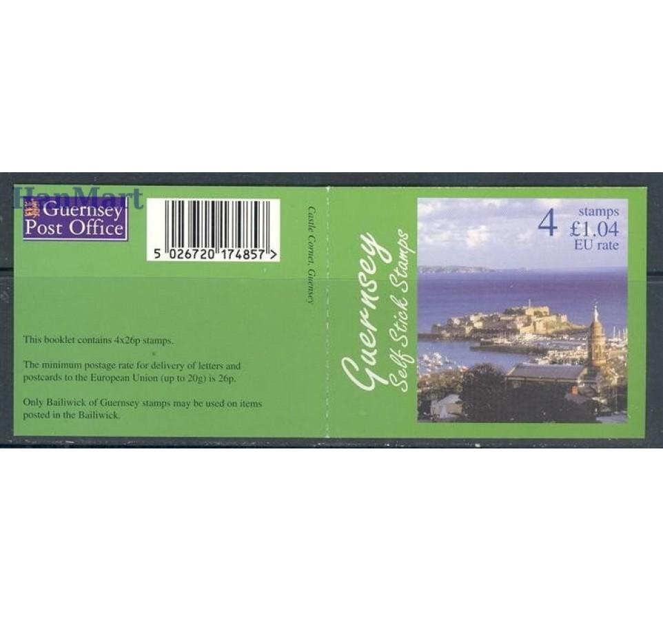 Guernsey 1997 Mi mh O-17 Czyste **