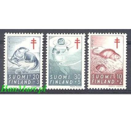 Znaczek Finlandia 1961 Mi 536-538 Czyste **