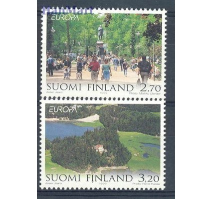 Finlandia 1999 Mi 1474-1475 Czyste **