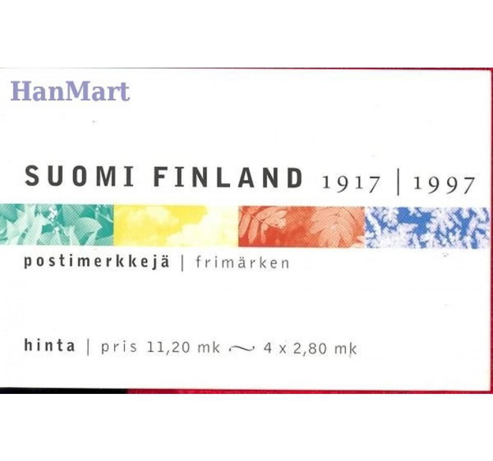 Finlandia 1997 Mi mh 47 Czyste **