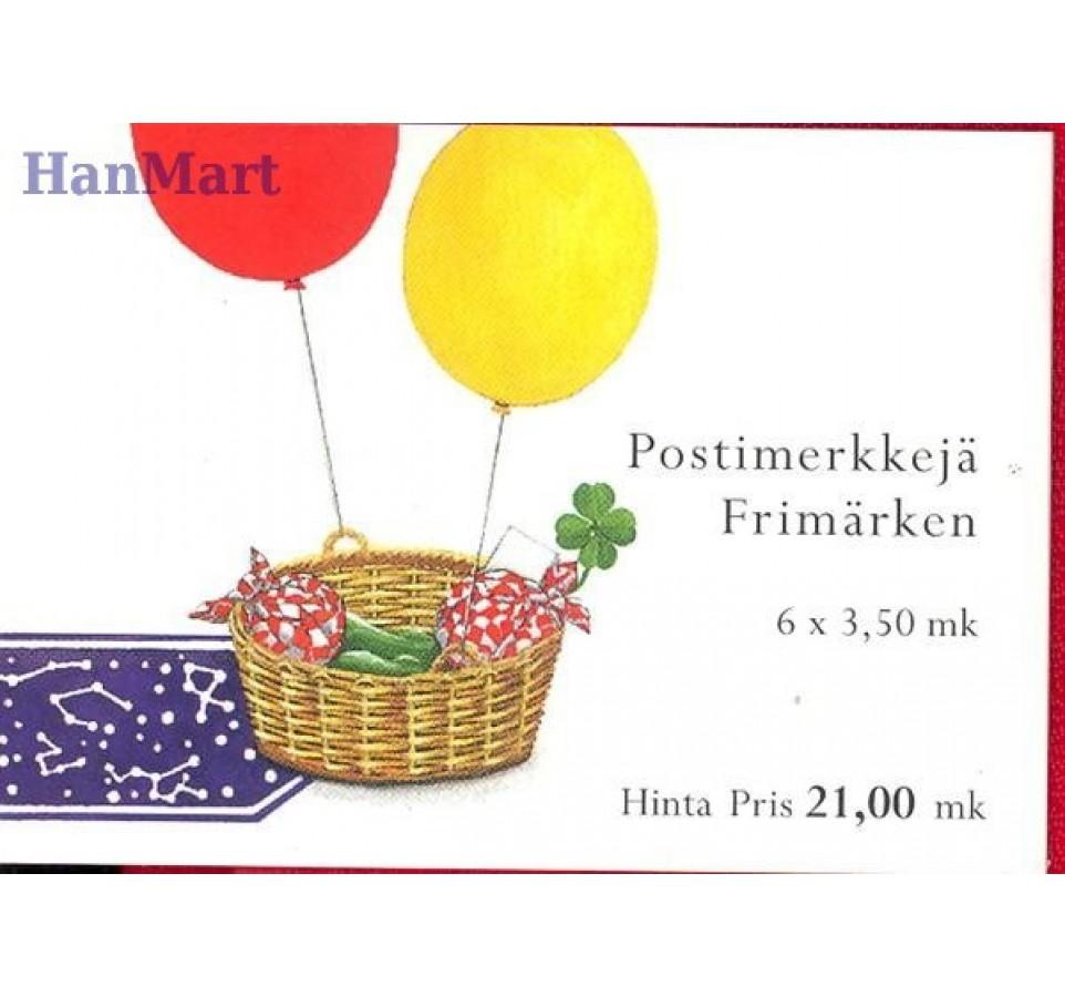 Finlandia 2000 Mi mh 58 Czyste **