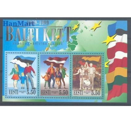 Znaczek Estonia 1999 Mi bl 13 Czyste **