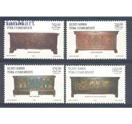 Znaczek Cypr Północny 2003 Mi 584-587 Czyste **