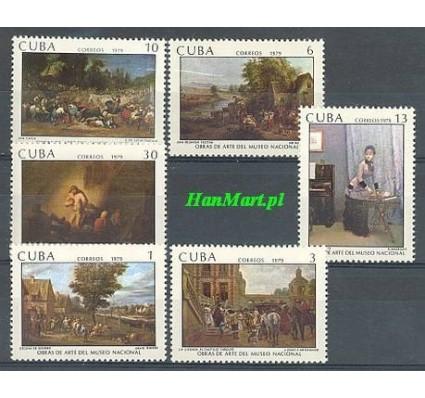 Znaczek Kuba 1979 Mi 2373-2378 Czyste **