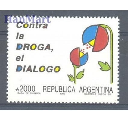 Argentyna 1990 Mi 2021 Czyste **