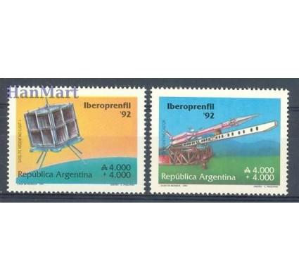 Znaczek Argentyna 1991 Mi 2109-2110 Czyste **