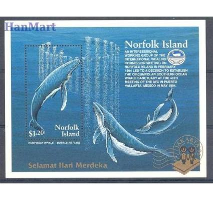 Znaczek Norfolk 1995 Mi bl 15 Czyste **