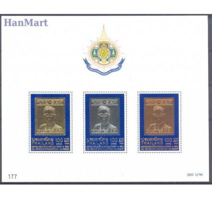 Tajlandia 1999 Mi bl 128 Czyste **