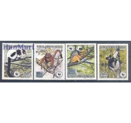 Madagaskar 1988 Mi 1110-1113 Czyste **