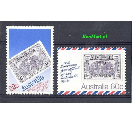 Australia 1981 Mi 745-746 Czyste **