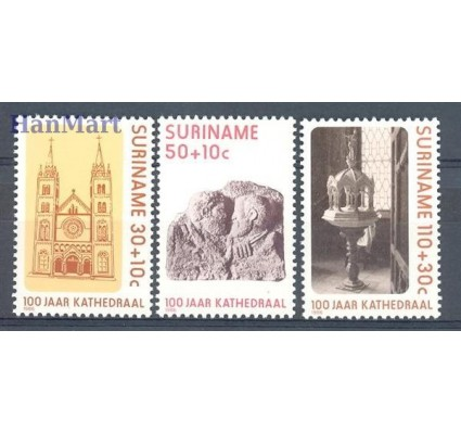 Znaczek Surinam 1986 Mi 1177-1179 Czyste **