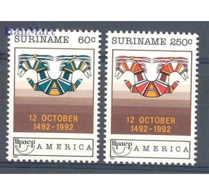 Surinam 1992 Mi 1420-1421 Czyste **