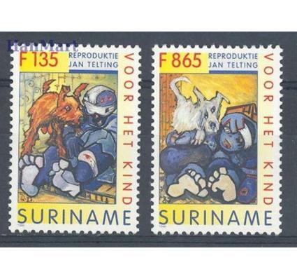 Znaczek Surinam 1996 Mi 1574-1575 Czyste **