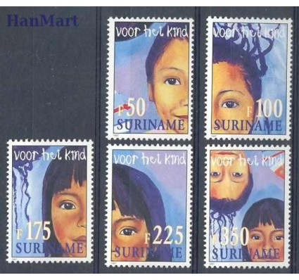 Surinam 1997 Mi 1623-1627 Czyste **