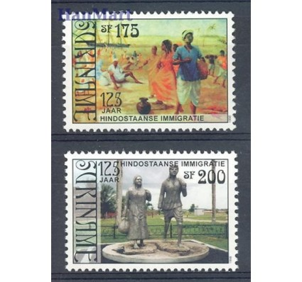 Surinam 1998 Mi 1650-1651 Czyste **