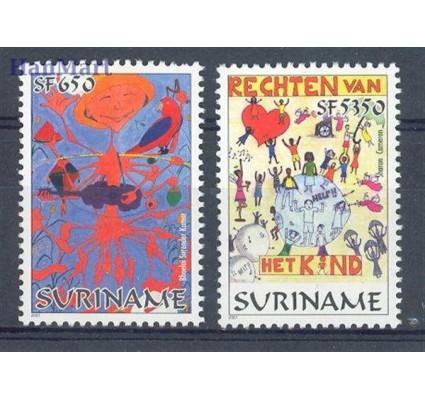 Znaczek Surinam 2001 Mi 1779-1780 Czyste **