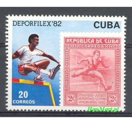 Znaczek Kuba 1982 Mi 2666 Czyste **