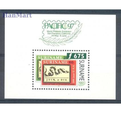 Znaczek Surinam 1997 Mi bl 69 Czyste **