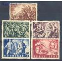 Bułgaria 1951 Mi 793-797 Czyste **