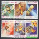 Kuba 1983 Mi 2732-2737 Czyste **
