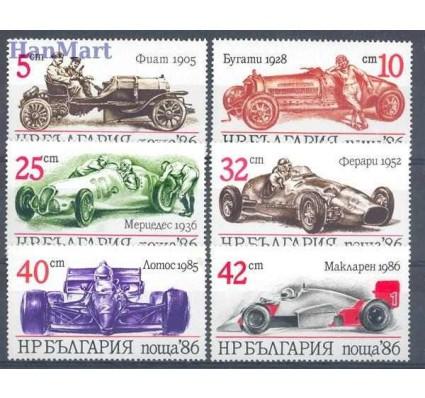 Bułgaria 1986 Mi 3537-3542 Czyste **