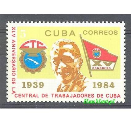 Znaczek Kuba 1984 Mi 2820 Czyste **