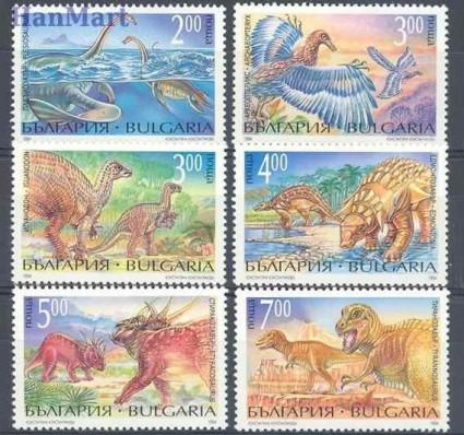 Bułgaria 1994 Mi 4109-4114 Czyste **