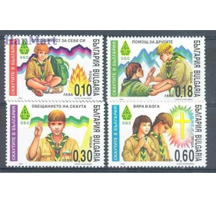 Bułgaria 1999 Mi 4443-4446 Czyste **