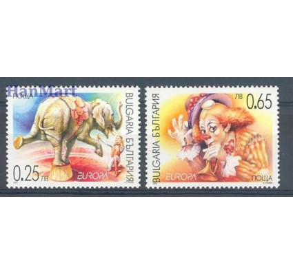 Znaczek Bułgaria 2002 Mi 4550-4551 Czyste **
