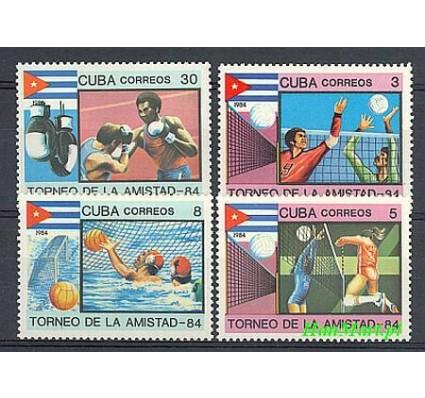 Znaczek Kuba 1984 Mi 2876-2879 Czyste **