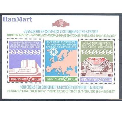 Bułgaria 1987 Mi bl 176 Czyste **