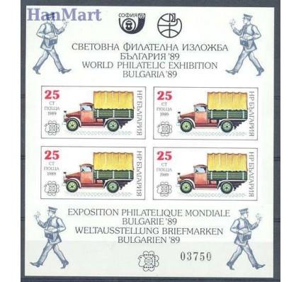 Znaczek Bułgaria 1989 Mi bl 191 Czyste **