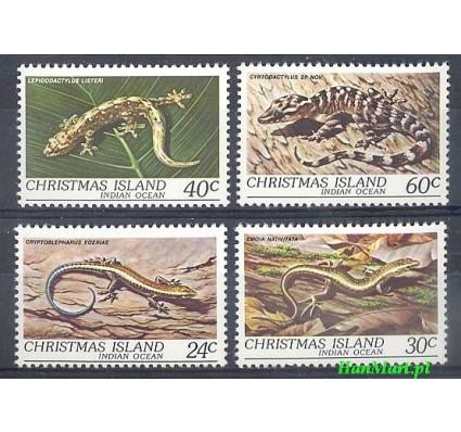 Znaczek Wyspa Bożego Narodzenia 1981 Mi 146-149 Czyste **