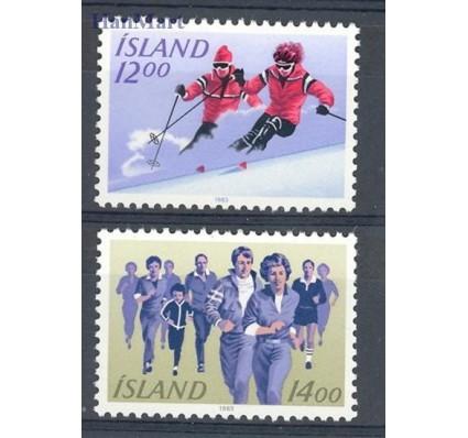 Islandia 1983 Mi 603-604 Czyste **
