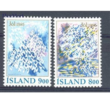 Islandia 1985 Mi 642-643 Czyste **