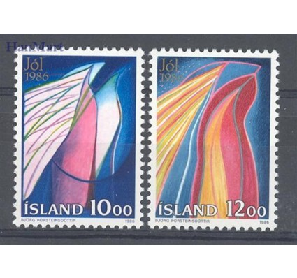 Islandia 1986 Mi 661-662 Czyste **
