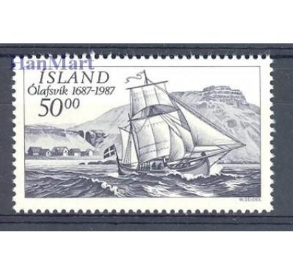 Islandia 1987 Mi 663 Czyste **