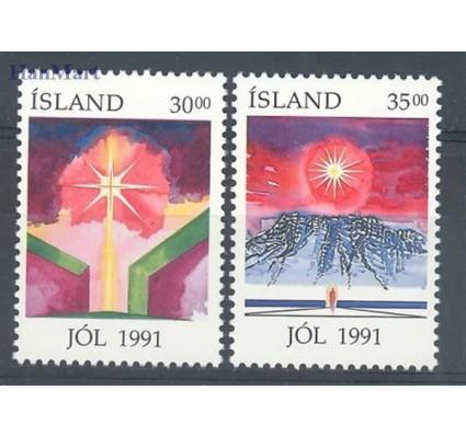 Islandia 1991 Mi 758-759 Czyste **