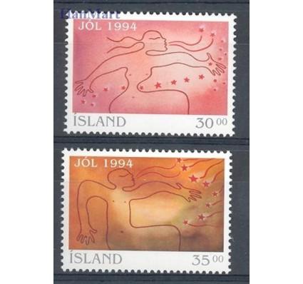 Islandia 1994 Mi 816-817 Czyste **