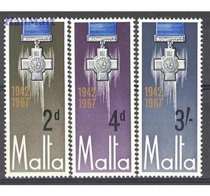 Malta 1967 Mi 350-352 Czyste **