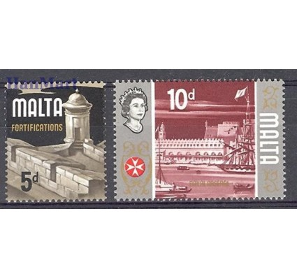 Znaczek Malta 1970 Mi 412-413 Czyste **